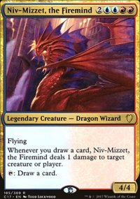 Niv-Mizzet, the Firemind - Commander 2017