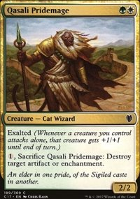 Qasali Pridemage - Commander 2017