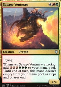 Savage Ventmaw - Commander 2017