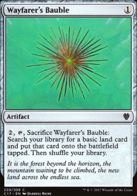 Wayfarer's Bauble - Commander 2017