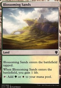 Blossoming Sands - Commander 2017