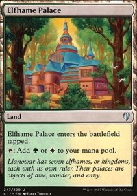 Elfhame Palace - Commander 2017