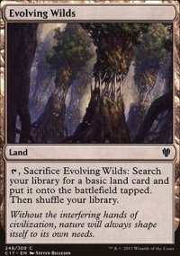 Evolving Wilds - Commander 2017