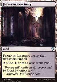 Forsaken Sanctuary - Commander 2017