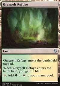 Graypelt Refuge - Commander 2017