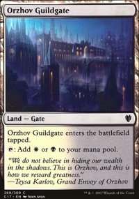 Orzhov Guildgate - Commander 2017