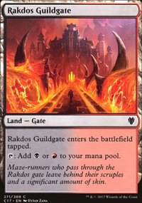 Rakdos Guildgate - Commander 2017