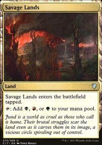 Savage Lands - Commander 2017