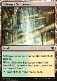Selesnya Sanctuary - Commander 2017