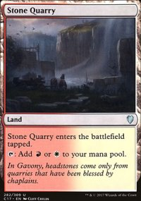 Stone Quarry - Commander 2017