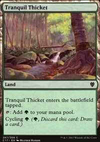 Tranquil Thicket - Commander 2017