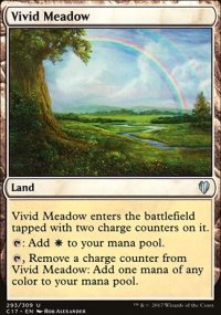 Vivid Meadow - Commander 2017