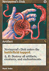 Nevinyrral's Disk - Masters Edition