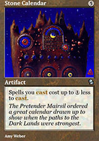 Stone Calendar - Masters Edition