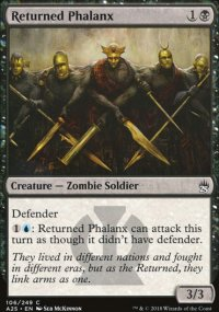 Returned Phalanx - Masters 25