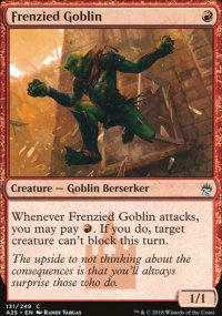 Frenzied Goblin - Masters 25