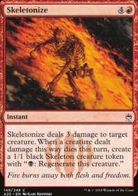 Skeletonize - Masters 25
