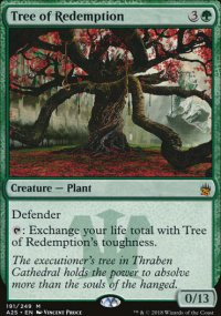 Tree of Redemption - Masters 25