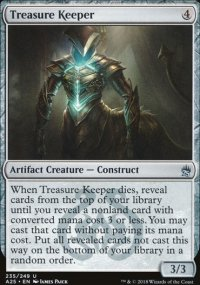 Treasure Keeper - Masters 25