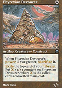 Phyrexian Devourer - Masters Edition II