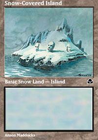 Snow-Covered Island - Masters Edition II