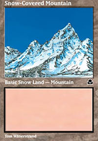 Snow-Covered Mountain - Masters Edition II