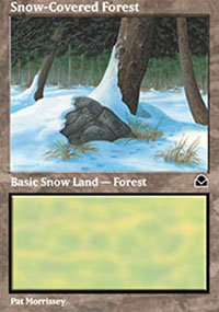 Snow-Covered Forest - Masters Edition II