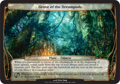 Grove of the Dreampods - Planechase 2012