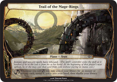 Trail of the Mage-Rings - Planechase 2012