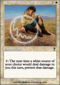 Circle of Protection: White - 7th Edition