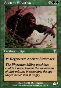 Ancient Silverback - 7th Edition