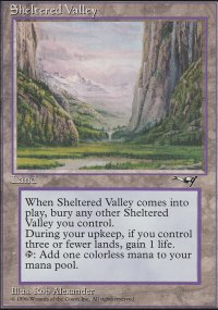 Sheltered Valley - Alliances