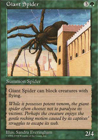 Giant Spider - Anthologies