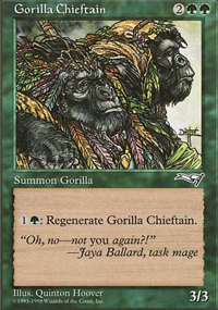 Gorilla Chieftain - Anthologies