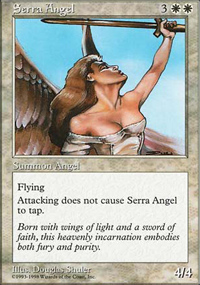 Serra Angel - Anthologies