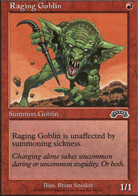 Raging Goblin - Anthologies