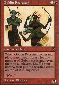 Goblin Recruiter - Anthologies