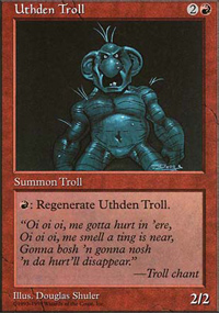 Uthden Troll - Anthologies