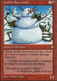 Goblin Snowman - Anthologies