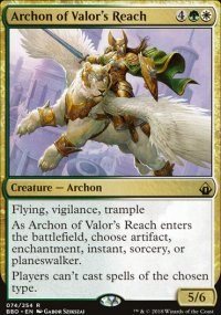 Archon of Valor's Reach - Battlebond