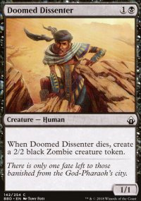 Doomed Dissenter - Battlebond