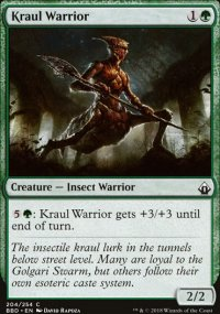 Kraul Warrior - Battlebond
