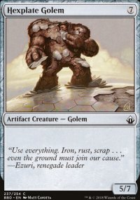 Hexplate Golem - Battlebond