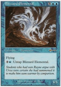 Blizzard Elemental - Beatdown