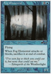 Fog Elemental - Beatdown
