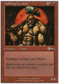 Hulking Cyclops - Beatdown