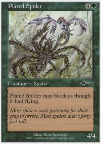 Plated Spider - Beatdown
