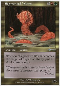 Segmented Wurm - Beatdown