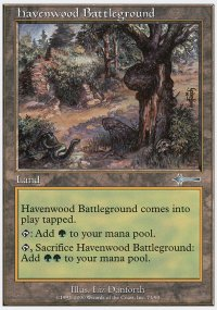 Havenwood Battleground - Beatdown