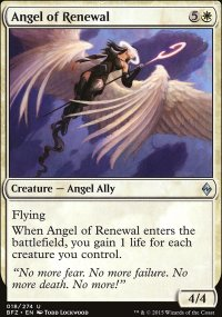 Angel of Renewal - Battle for Zendikar